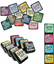 TIM HOLTZ DISTRESS INK PAD - CHOICE OF FULL SIZE DISTRESS PADS OR MINI INK  PADS
