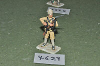 65mm colonial / british - figs beau geste infantry metal painted - inf (4629)