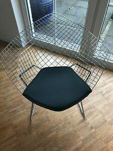 original Knoll Sitzkissen in schwarz für Bertoia Diamond Chair
