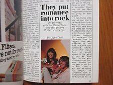 1971 TV Guide(THE  CARPENTERS/KAREN  CARPENTER/DAN BLOCKER/BONANZA/DAVID CASSIDY