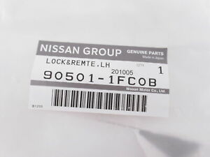 Genuine OEM Nissan 90501-1FC0B Liftgate Lock Latch Actuator
