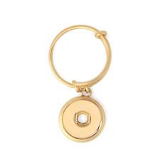 PETITE Ginger Snap GOLD DANGLE Ring GP95-25  Buy 4, Get 5th $5.95 Snap Free