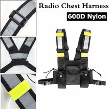 Caller Pocket Radio Walkie-talkie Chest Harness Front Pack Pouch Holster Vest