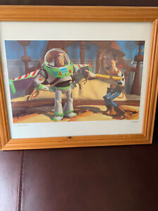 Toy Story Print In Frame