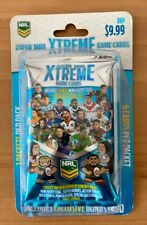 2018 NRL Xtreme Game Cards Packet
