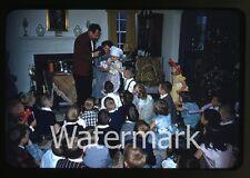 1950s red border kodachrome  Photo slide Magician Phil Thomas  Baltimore MD #2