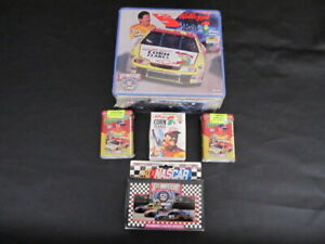 KELLOGG'S TERRY LABONTE NASCAR COLLECTIBLES TINS (LOT OF 5)  NEW