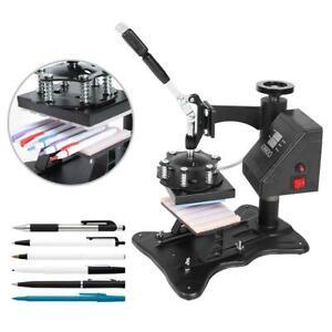 NEW Sublimation Pen Heat Transfer Machine Pen Heat Press Machine Touch Control