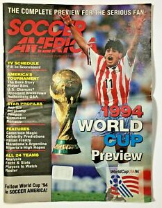 Soccer America June 13, 1994 U.S. Man's World Cup Preview Issue Reyna Cover