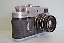KMZ Zorki-4  35 mm Rangefinder Camera with Industar 61 L/D lens