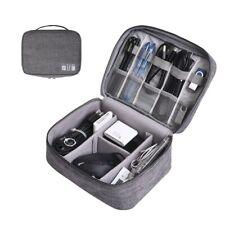 Waterproof Electronics Cables Organizer Bag Gadget Storage Pouch Travel kit Case