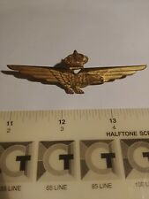 Italian military Air Force badge - Italian Pilot wings Ww2, 1943-1946