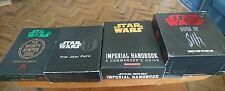 Star Wars Vault Sets Jedi Path Book of Sith Bounty Hunter Code Imperial Handbook