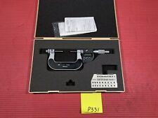 "Mitutoyo 324-352-30 Gear Tooth Micrometer 1-2"" Range, .00005""/0.001mm Grad (P331"