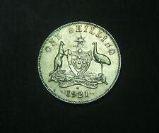 1921  Australian shilling, 1/,
