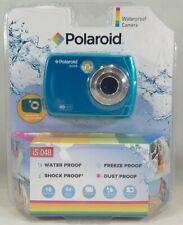 Polaroid IS048 Waterproof Instant Sharing 16 MP Digital Camera, Teal - O/B