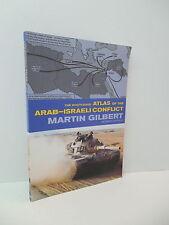 Routledge Atlas Arab-Isaeli Conflict Guide Map Book Libya Iraq Egypt Syria Yemen