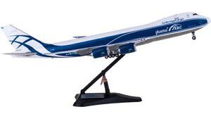 1:200 38CM JC Wings AirBridgeCargo BOEING 747-8F Aircraft Diecast Airplane Model