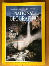 NATIONAL GEOGRAPHIC VOL 156, NO. 1  JULY 1979 US National Park Concise Parkland