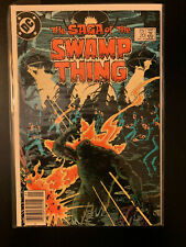 Swamp Thing 20 First Alan Moore Issue of the Series VF/FN
