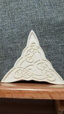 Embossing Stamp Plates for Leather Craft - Celtic Interwoven Triangle