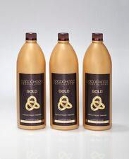 COCOCHOCO GOLD BRAZILIAN KERATIN TREATMENT BLOW DRY HAIR STRAIGHTENING 3 LITRE