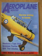 AEROPLANE MONTHLY MAGAZINE MARCH 1989