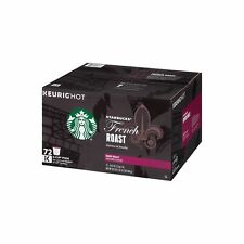 Keurig K Cups Coffee Starbucks French Roast K-Cups Dark Blend Arabica 72 Pods
