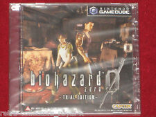 *New Sealed* Nintendo GameCube BIOHAZARD 0 ZERO TRIAL EDITION Resident Evil Demo
