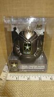 US Army Hoodie Hand Crafted Glass Christmas Tree Ornament by Kurt Adler