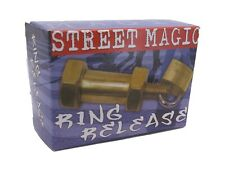 Magic Trick Street Magic Ring Release, Brass - Street Magic