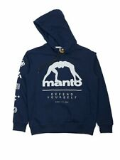 Manto Hoodie Elements Navy Blue BJJ No Gi Casual MMA Fight Brazilian Jiu Jitsu