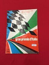 Ferrari Gran Price Italy Program 1970 Rare