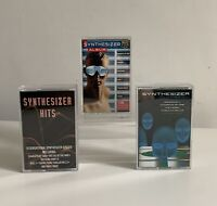 Synthesizer Hits Cassette Tapes X 3 Job Lot Bundle Great Condition Tested