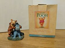 "Simply Pooh Figurine Eeyore & Tigger "" So This Is What Smiling Feels Like"" In."