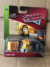 DISNEY CARS DIECAST Honk Cho -Miguel Camino Pitty With Bonus Collector Card 2018