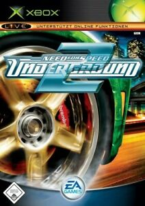 Microsoft Xbox game Need for Speed: Underground 2 boxed
