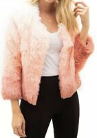 "MOTHER ""The boxy"" Faux Fur Jacket Size S"