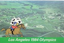 1984 Lot of 3 Olympic Equestrian Post Cards Los Angeles Sam Mascot Postcard