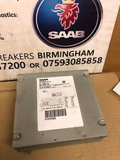 SAAB 93 9-3 SAT NAV NAVIGATION POSITIONING UNIT 12757925 BA