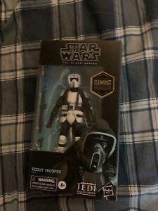 Hasbro Star Wars Black Series Scout Trooper Figure