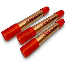 """3x Universal Refrigeration Capillary Line 20g Copper Spun Drier/Dyer Filter 1/4"""""""