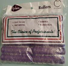 Vintage Nylrem Set of Hair Rollers - Sealed Purple
