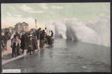 Sussex Postcard - A High Sea, Bognor Regis  RT2349