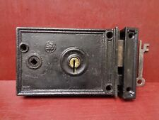 Vintage Usa Architectural & Garden Copper Wash Barrel Bolt Latch Lock 4 Inches Long With Screws