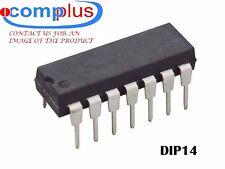 2x MC14066BCP IC-DIP14 QUAD 1-CHANNEL, SGL POLE SGL THROW SWITCH