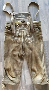 Lederhose Trachtenhose Trachtenmode Größe 128