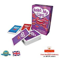 READ MY LIPS Card Game Mouthing Party Card Game Rules & Timer Toy Gift Present