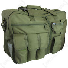 Verde oliva Tactical Bolsa De Carga-Estilo Militar Mochila Maletín