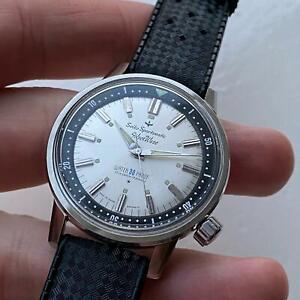 """Seiko SilverWave 69799 Sporstmatic, """"Very First Dive Watch"""" WATERPROF 30M NOS"""